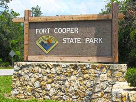 Fort Cooper FloridaState Park
