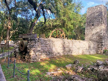 Yulee Sugar Mills Ruins Historic Site